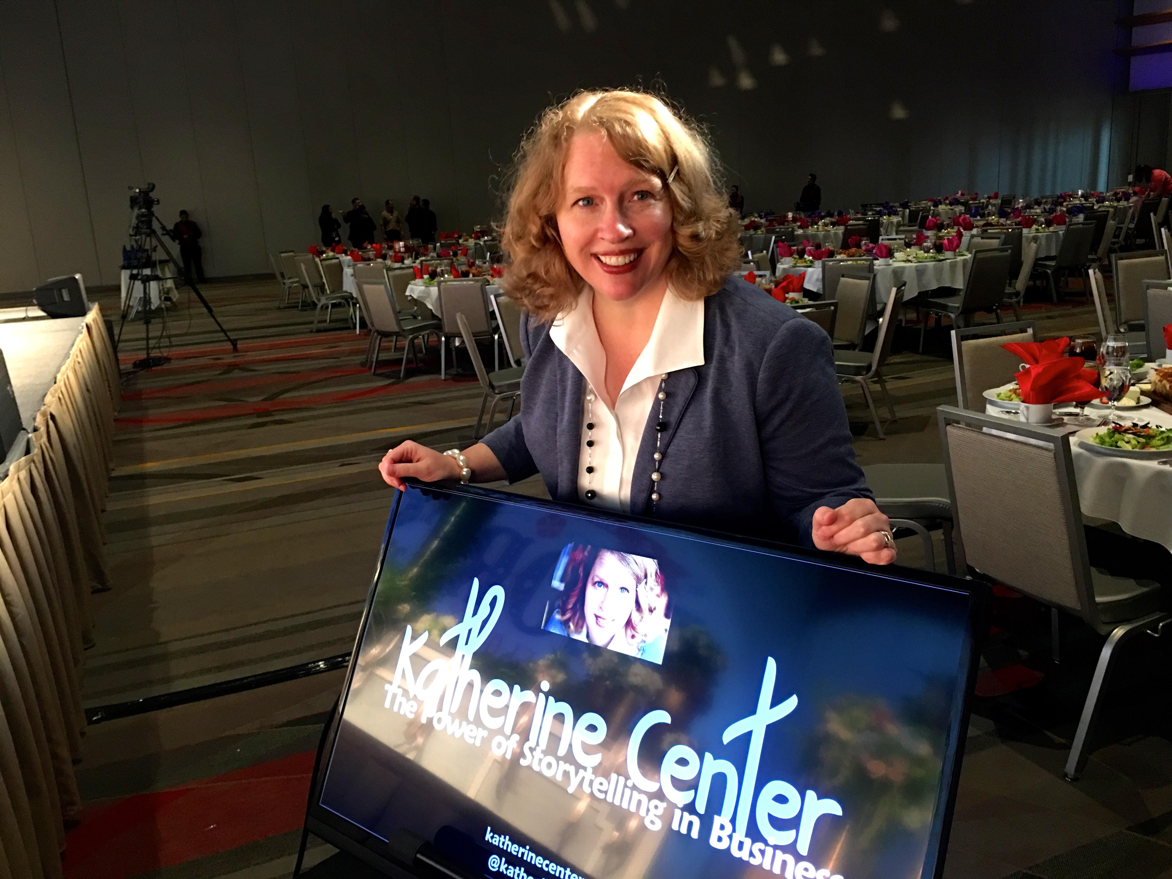 katherine center speaking, speaker