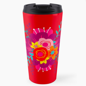 How to Walk Away bouquet TRAVEL MUG