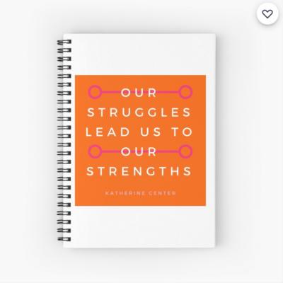 STRUGGLES + STRENGTHS SPIRAL