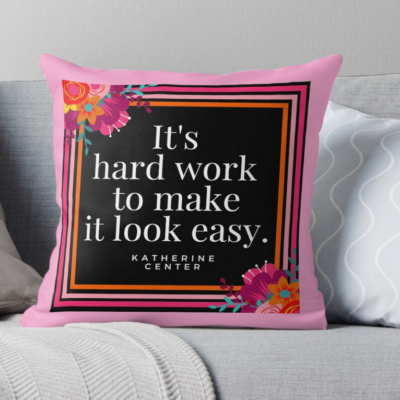 MAKE IT LOOK EASY PILLOW