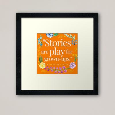 PLAY & STORIES ART PRINT