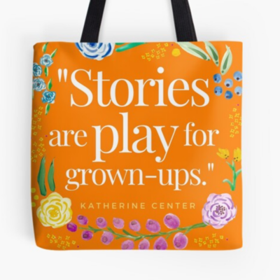 PLAY FOR GROWN-UPS TOTE