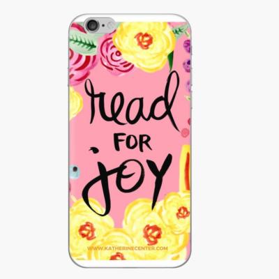 READ FOR JOY PHONE CASE